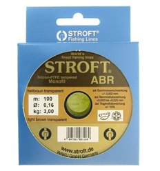 Stroft ABR fir monofilament 0.16MM - 3.0KG - 100M