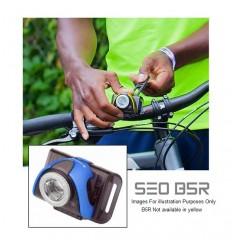 Set lanterne led bicicleta LED LENSER SEO B5R GRI+B2R 180 lumeni reincarcabile USB
