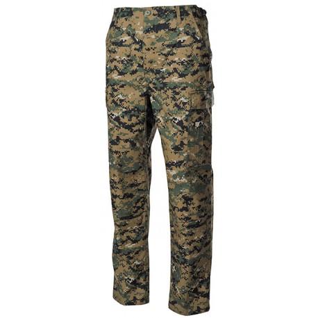 Pantaloni US woodland digital