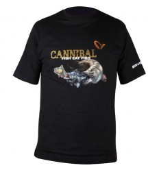 Tricou Savage Gear Cannibal 100% bumbac