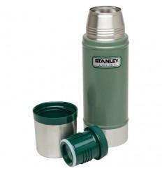 Termos Stanley 0.47 L inoxidabil Hammertone verde