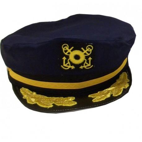 Sapca bleumarin de capitan de vas