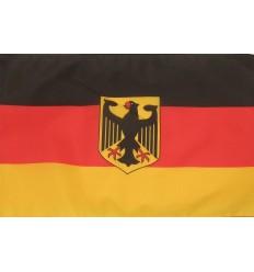Steag Germania cu emblema 30x45 cm