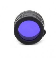 Filtru culoare albastra Nitecore NFB34 pentru lanterne
