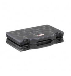 Set 2 cutii 8/32 cu compartimente ajustabile 76X186X59mm Plastico Panaro