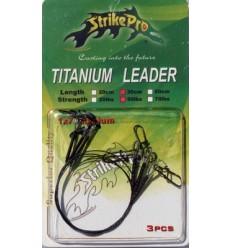 Struna titanium Strike Pro 30CM/20LBS 3BUC/PLIC