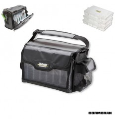 Geanta Cormoran K-DON 3008 SPIN 31X20X21CM + 3 cutii