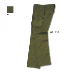Pantaloni Unisport Lepre bumbac verzi