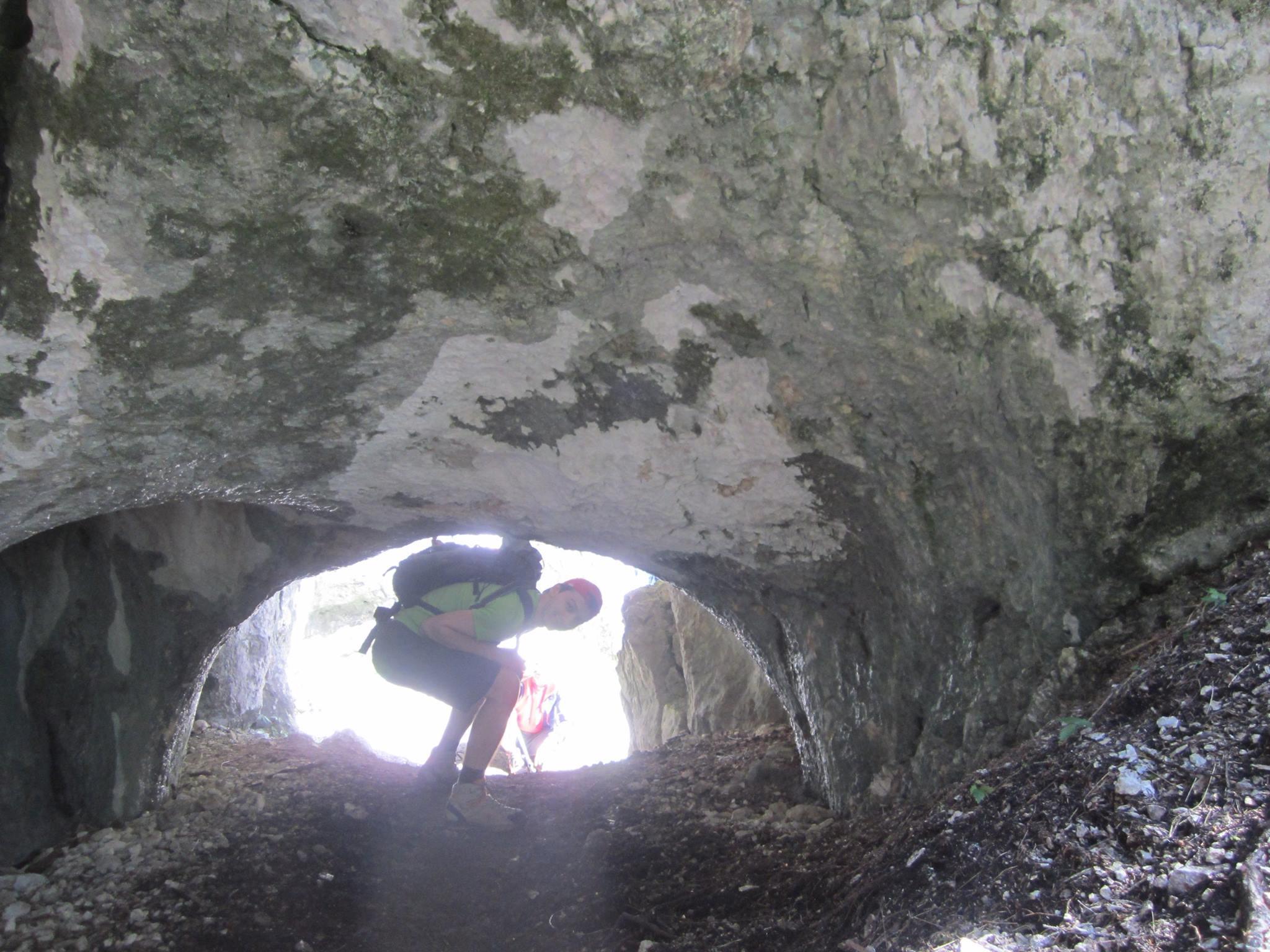 forme de eroziune pe traseul Valea Horoabelor - muntii Bucegi