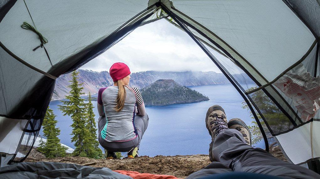 camping cu cortul