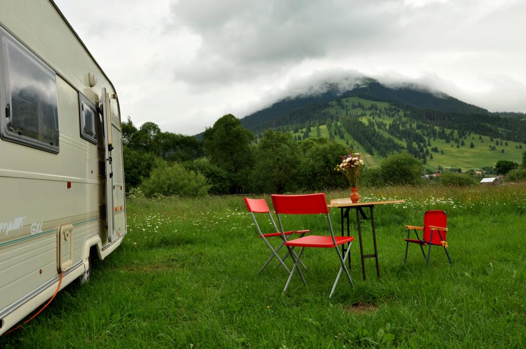 camping cu rulota