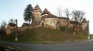 biserica fortificata Calnic