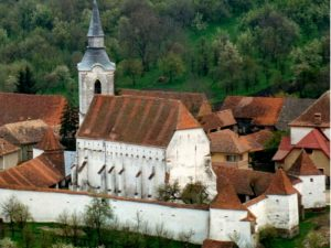 biserica fortificata Darjiu