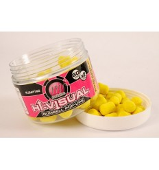 Boilies pop-up fluo Dumbel pineapple 15mm Mainline