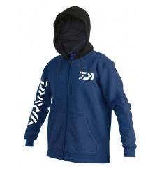 Hanorac bumbac Team Daiwa albastru