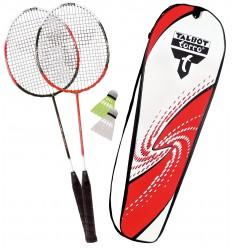 Set badminton 2 rachete Combat cu husa