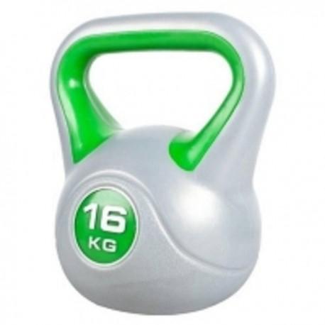 Gantera Kettlebell plastic 16 kg