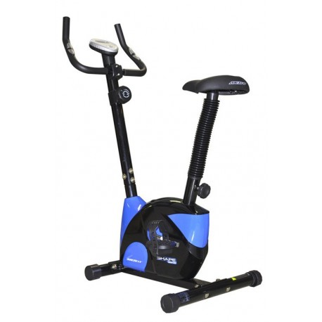 Bicicleta Fitness Magnetica Fit Negru - Albastra