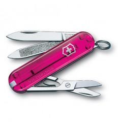 Briceag Victorinox Classic roz transparent