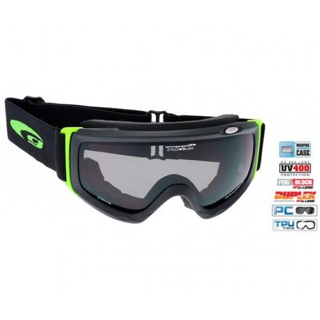 Ochelari Ski policarbonat Goggle H842-2 lentile fumurii