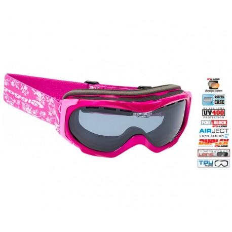 Ochelari ski Goggle dama pink H716-6