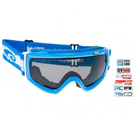 Ochelari Ski unisex Goggle H842-4 lentile fumurii