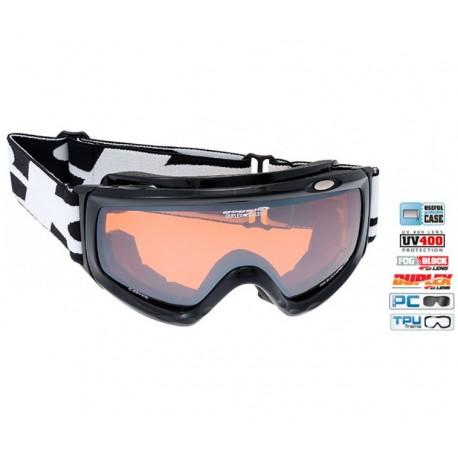 Ochelari Ski Goggle lentile portocalii H842-1