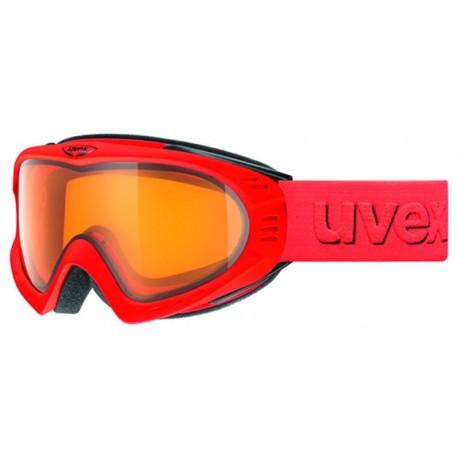 Ochelari ski / snowboard Uvex F2 rosii