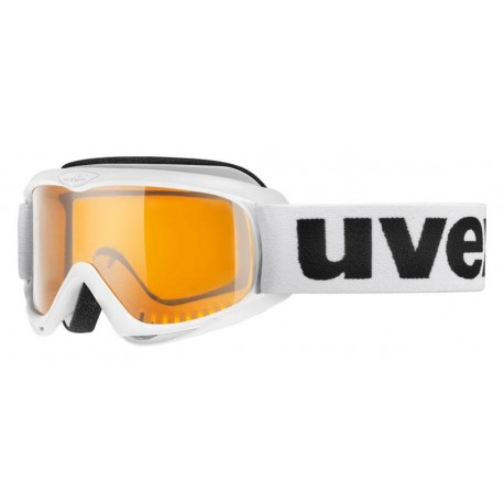 Ochelari ski / snowboard Uvex Snowcat Junior albi