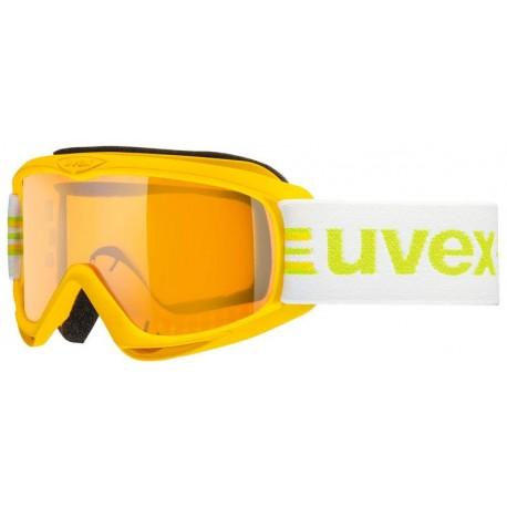 Ochelari ski / snowboard Uvex Snowcat Junior galbeni