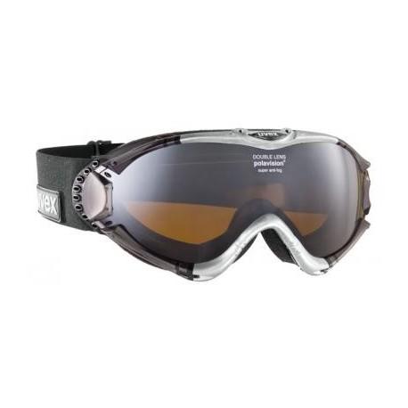 Ochelari ski / snowboard Uvex Ultrasonic Pola Hd argintii