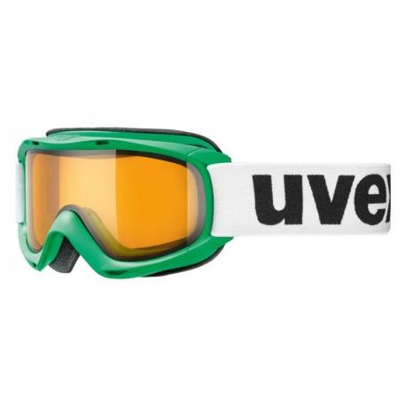 Ochelari ski / snowboard Uvex Slider Junior verzi