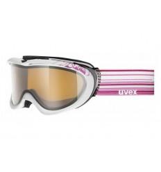 Ochelari ski / snowboard Uvex Comanche Pola albi / violet