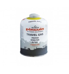 Butelie aragaz cu valva Pinguin Travel Gas 450g