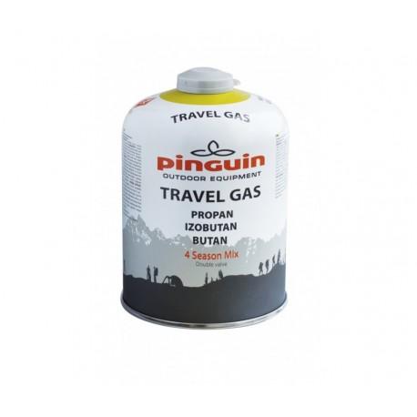 Butelie aragaz cu valva Pinguin Travel Gas 450g