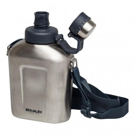 Bidon 1 litru inoxidabil Stanley cu curea