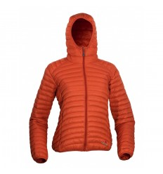 Geaca dama cu puf Warmpeace Vikina HD Lady orange