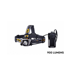 Lanterna Frontala 900 lumeni Fenix HP30 LED galbena
