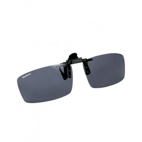 Ochelari polarizati clip on Daiwa gri inchis
