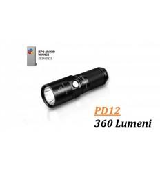 Lanterna led 360 lumeni Fenix PD12