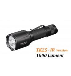 Lanterna led 1000 lumeni Fenix TK25 - Infra-Rosu