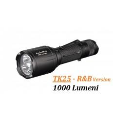 Lanterna led 1000 lumeni Fenix TK 25 Red&Blue