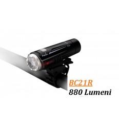 Lanterna bicicleta led 880 lumeni Fenix BC21R