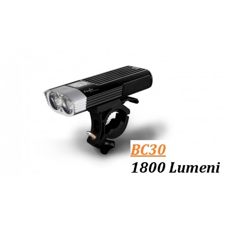 Lanterna bicicleta led 1800 lumeni Fenix BC30