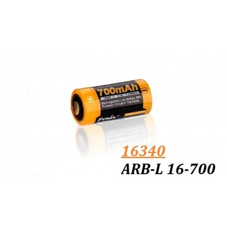 Acumulator Fenix 16340 - 700 mAh - ARB-L 16-700