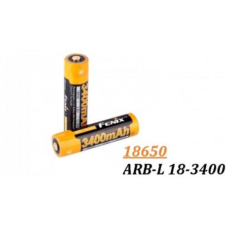 Acumulator Fenix 18650 - 3400mAh - ARB-L 18-3400