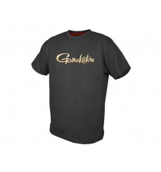 Tricou bumbac Gamakatsu gold logo
