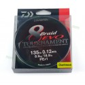 Fir textil Daiwa Tournament X8 Evo Chartreuse 012MM - 8,6KG - 135M