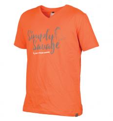 Tricou barbati, bumbac, Savage Gear Simply Savage portocaliu