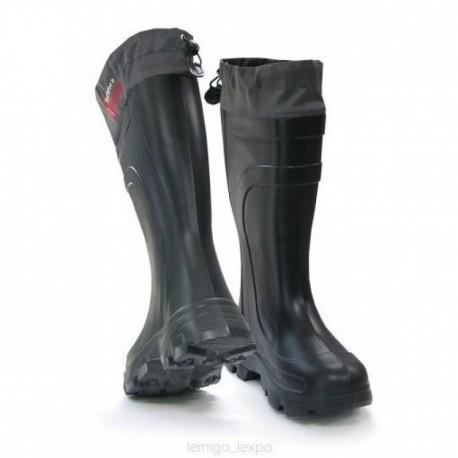 Cizme de cauciuc -70 grade cu ciorap detasabil Lemigo Vermont negre